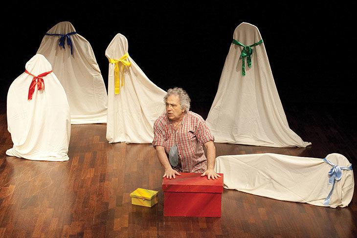 Un «Sogno d'aria» per i più piccoli apre la stagione teatrale al Magazzino Verde di Medicina