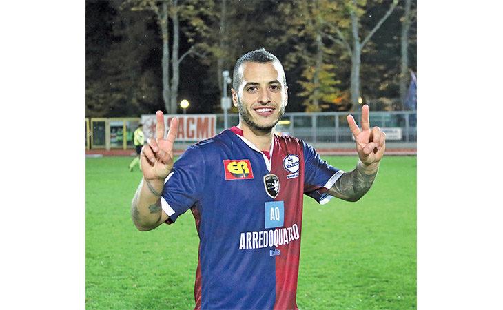 Calcio serie C, il rossoblù Giuseppe Giovinco e i complimenti del fratello Sebastian su Instagram