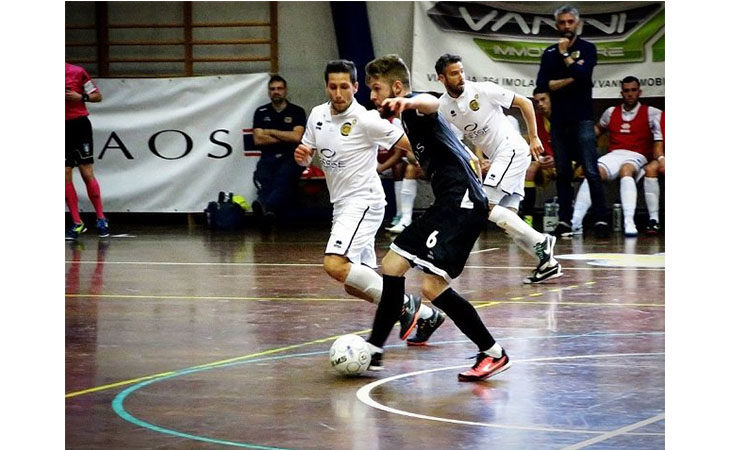 Futsal B, alla Cavina non c'è storia e l'Imolese Kaos mantiene l'imbattibilità
