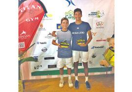 Tennis, il 14enne Enrico Baldisserri cala il poker in doppio alle Canarie