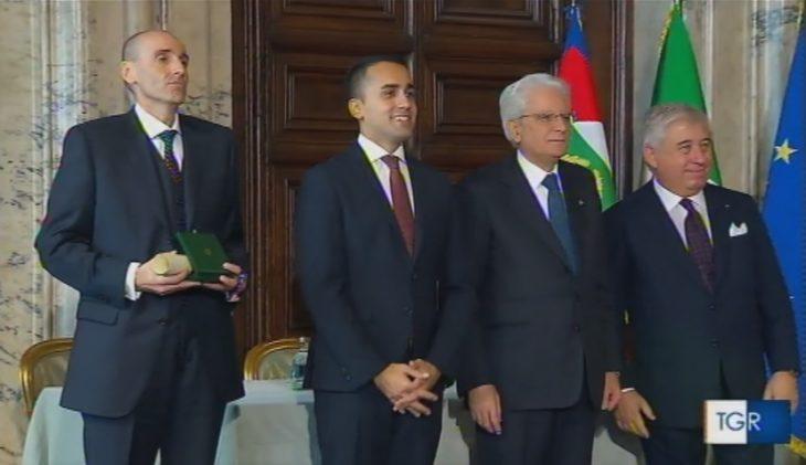 Il presidente dell'Ima Alberto Vacchi è Cavaliere al Merito del lavoro, la cerimonia si è svolta al Quirinale