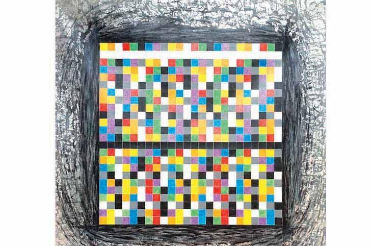 Arte e matematica unite nella mostra di Gabriele Gelatti a Castello