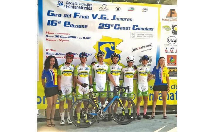 Ciclismo, il team manager Mirco Grossi (Polisportiva Villafontana) chiede aiuto: «Aziende locali, ci siete?»