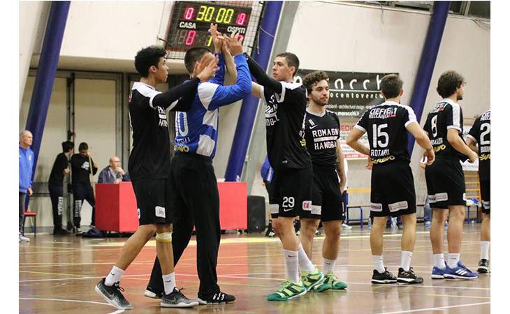 Pallamano A2, il Romagna Handball ritrova il sorriso a Carpi