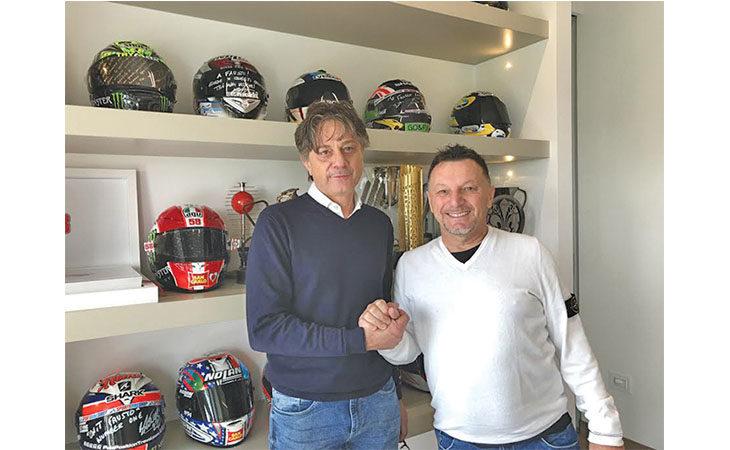 L'azienda di Toscanella Fps Automations insieme a Fausto Gresini in Moto3