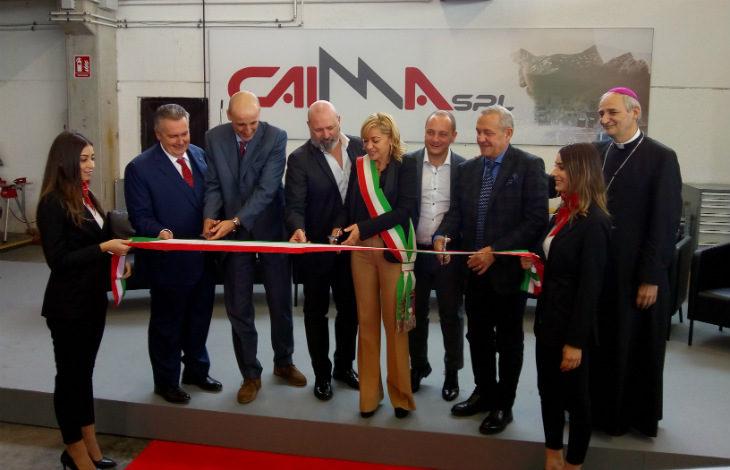 Grazie all'impegno di Ima e Marchesini group dal fallimento Stampi a Monghidoro è nata la Caima