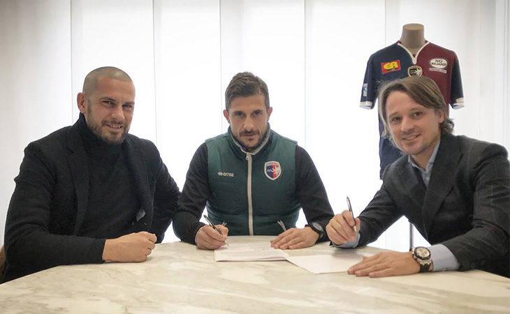 Calcio serie C, il mister dell'Imolese Alessio Dionisi ha rinnovato fino al 2022