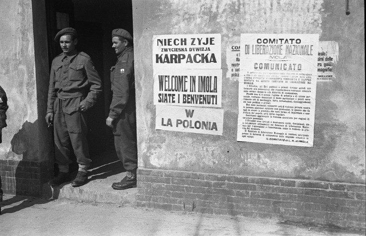 Oggi 24 novembre a Castel San Pietro Terme e a Imola varie iniziative in onore dei soldati polacchi liberatori