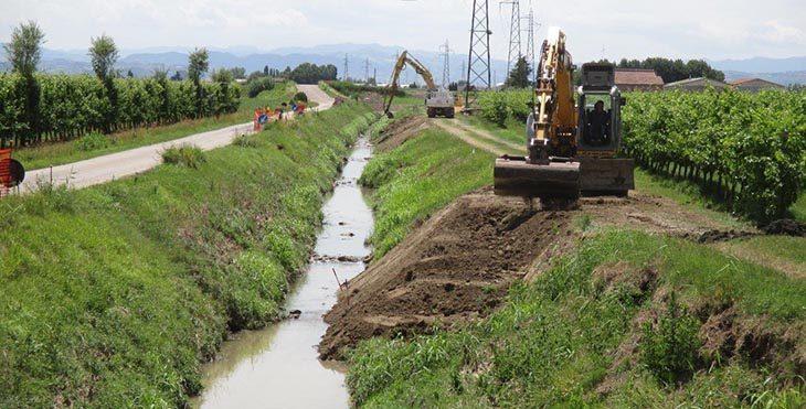 Via Gambellara chiusa al traffico i giorni feriali fino al 14 dicembre per i lavori sul canale nel tratto Molino Rosso-Lasie