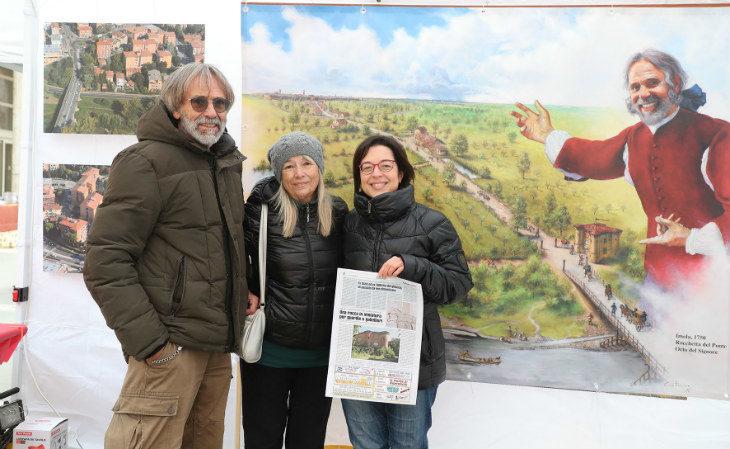 L'apicoltore Maurizio Nenzioni e il suo progetto di recupero della rocchetta daziaria di via Pisacane