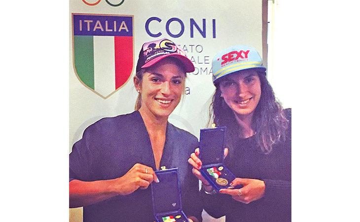 Beach tennis, Giulia Gasparri e Sofia Cimatti insieme per salire sul tetto del mondo