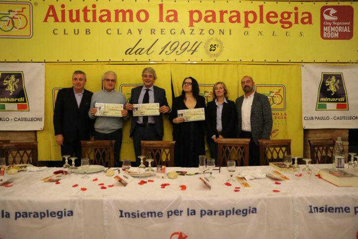 Il club Clay Regazzoni di Lodi dona 7.500 euro a Casa Guglielmi, che li userà per ridurre le tariffe a chi ha più bisogno