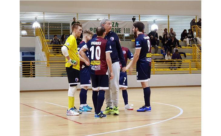 Futsal serie B, «manita» dell'Imolese Kaos al malcapitato Sedico