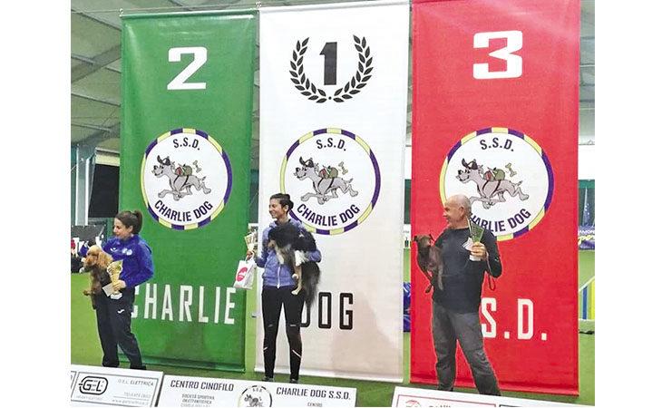 Podio tricolore per Angelo Mainetti ed il suo cane Pif alle finali di agility dog