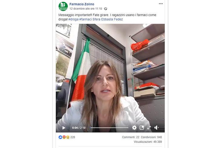 """La farmacista Elena Penazzi: """"Attenzione ai farmaci usati dai ragazzi come droga' – VIDEO"""
