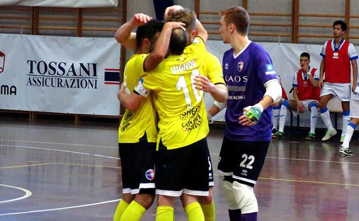 Futsal B, il Maccan Prata non può nulla contro questa Imolese Kaos