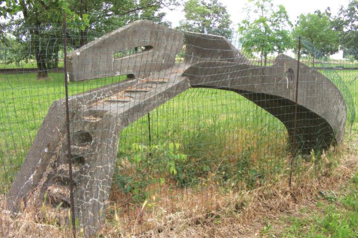 Con il ricavato del libro «Storia di vite» l'associazione PerLeDonne restaurerà il «Ponte – scivolo» di Sante Zennaro