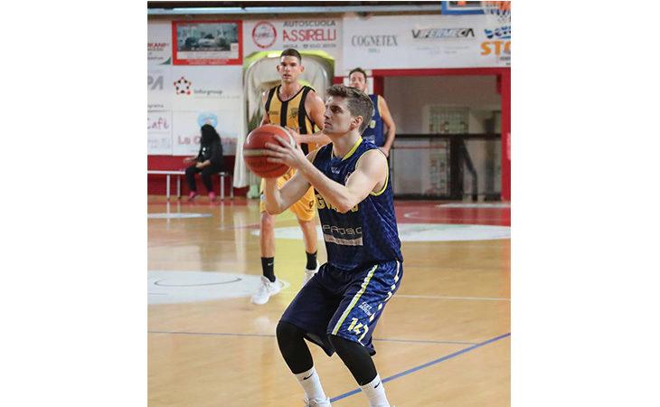 Basket C Gold, pronto riscatto per Castel Guelfo nell'ultima gara dell'anno