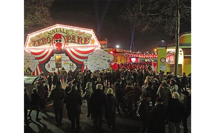 Il posto migliore dove farsi gli auguri è il tradizionale evento di «Natale Zero Pare»