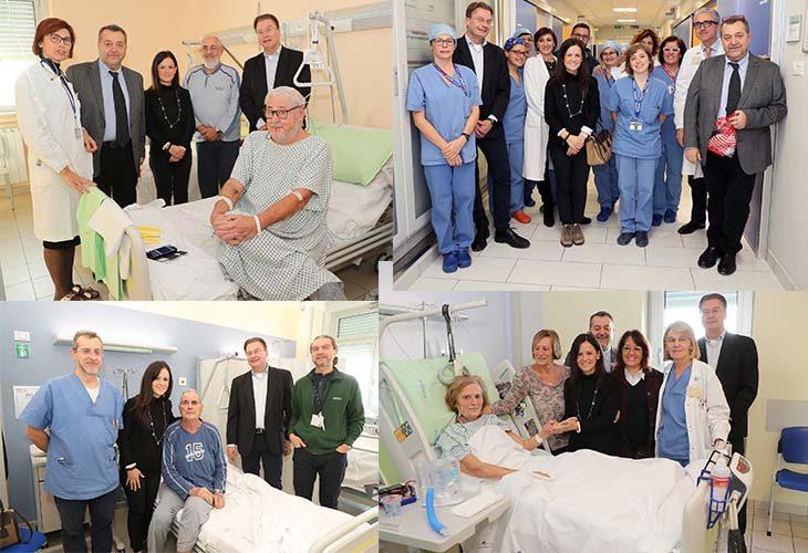 Gli auguri di rito dell'Amministrazione comunale ai degenti e agli operatori dell'ospedale di Imola