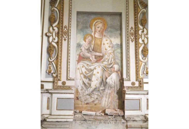 Come è stata scoperta la vera datazione della Madonna di Torano, che sarà presentata alla cittadinanza a fine restauro