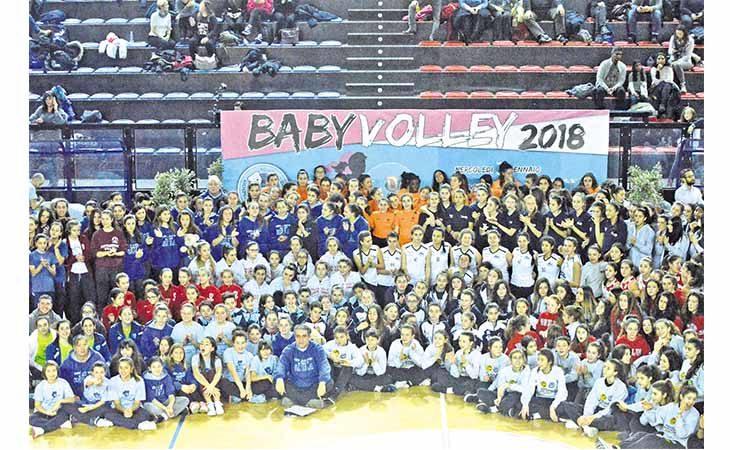 Oggi al «Ruggi» il gran finale dell'edizione 2019 del Babyvolley