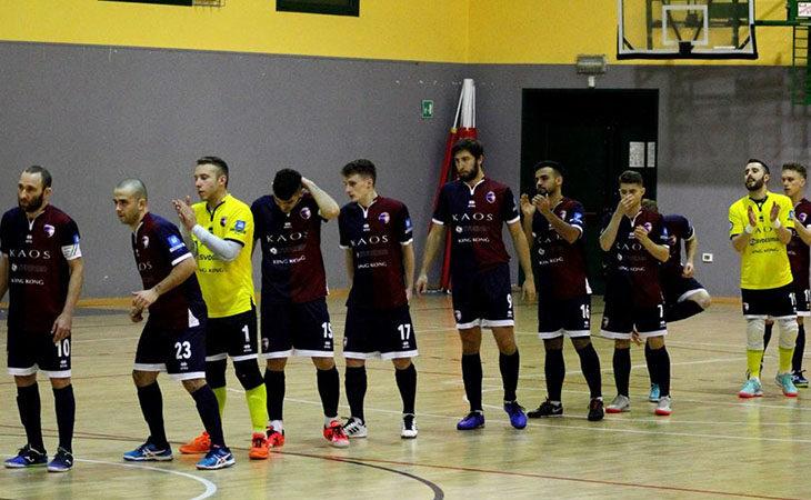 Futsal serie B, l'Imolese Kaos chiude l'andata con un pareggio