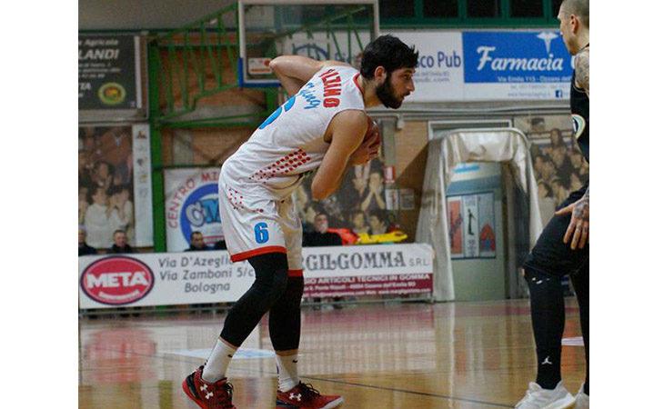 Basket serie B, terza sconfitta di fila per la Sinermatic Ozzano