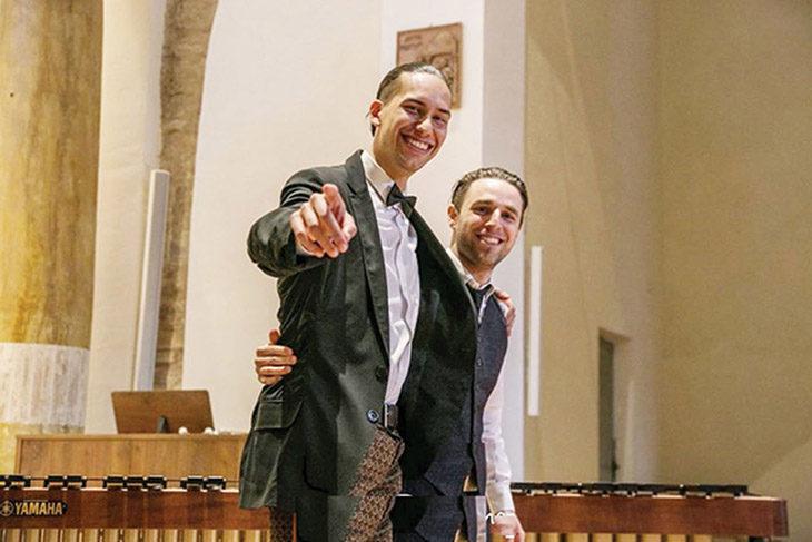 Piano e marimba per il concerto di sabato a palazzo Sersanti