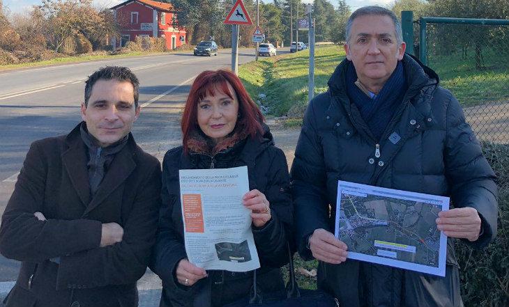 Il Comitato per il prolungamento della ciclabile di via Emilia levante: «L'opera è necessaria e deve essere completata»