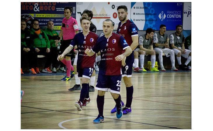 Futsal serie B, successo sofferto e allungo per l'Imolese Kaos