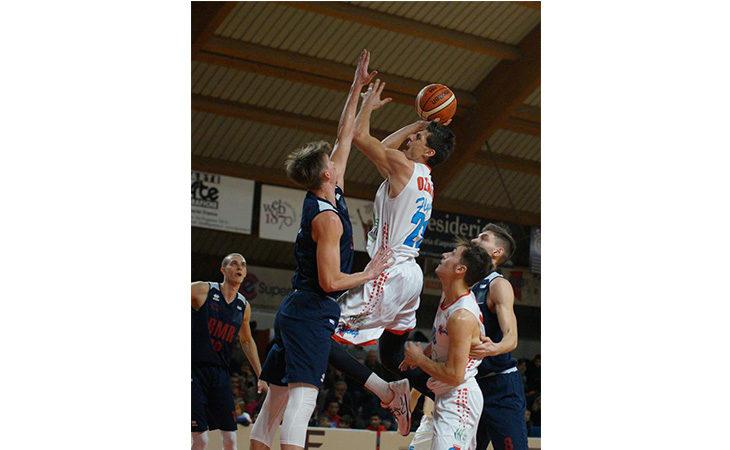 Basket serie B, la Sinermatic Ozzano ritrova il sorriso contro Crema