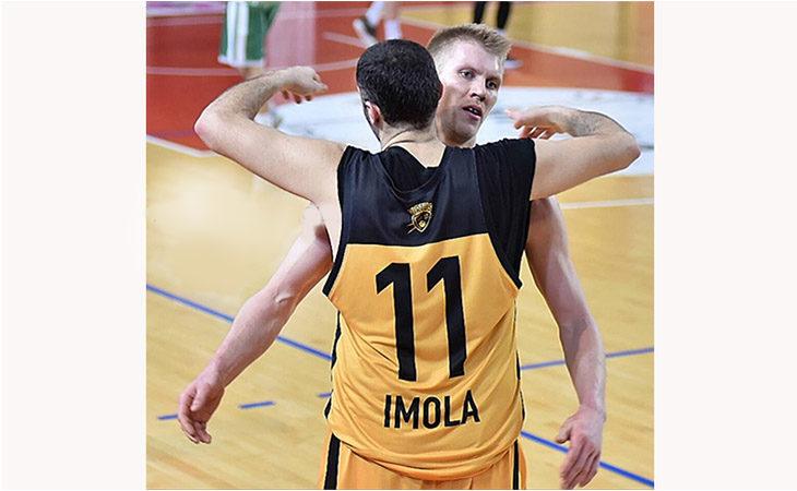 Basket C Gold, Zhytaryuk è il padrone del Ruggi e la Vsv Imola supera Fiorenzuola