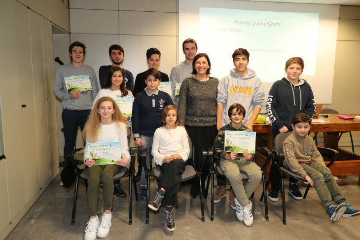 L'azienda Imola Legno ha premiato 11 studenti con le borse di studio alla memoria del co-fondatore Elio Poli