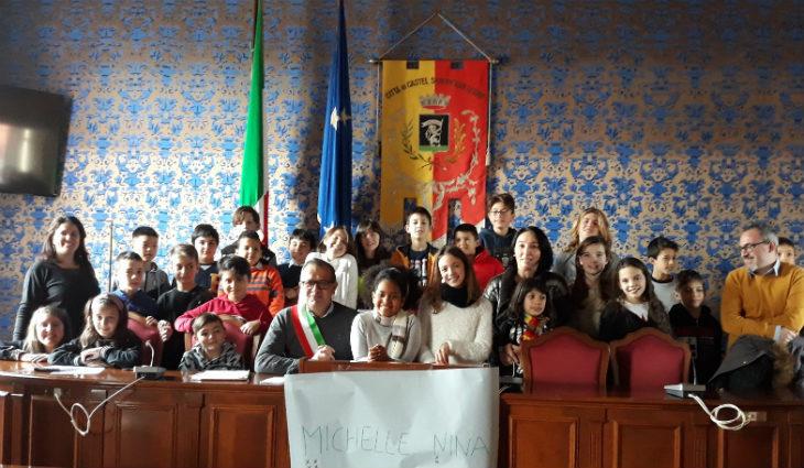 Elezioni in rosa per i ragazzi e le ragazze di Castel San Pietro Terme: Michelle Lamieri sindaca, Nina Sebagabo vice