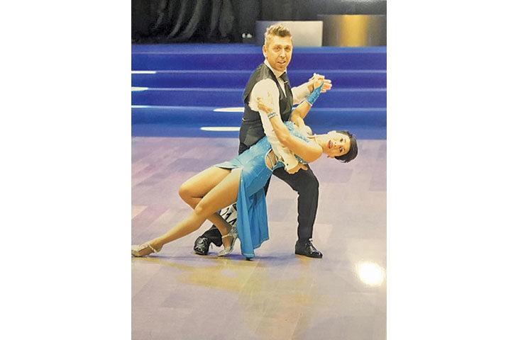 Lucio D'Amato e Beatrice Venturi campioni italiani assoluti di categoria nella danza sportiva