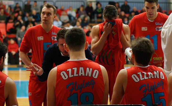 Basket serie B, supplementare indigesto per la Sinermatic Ozzano