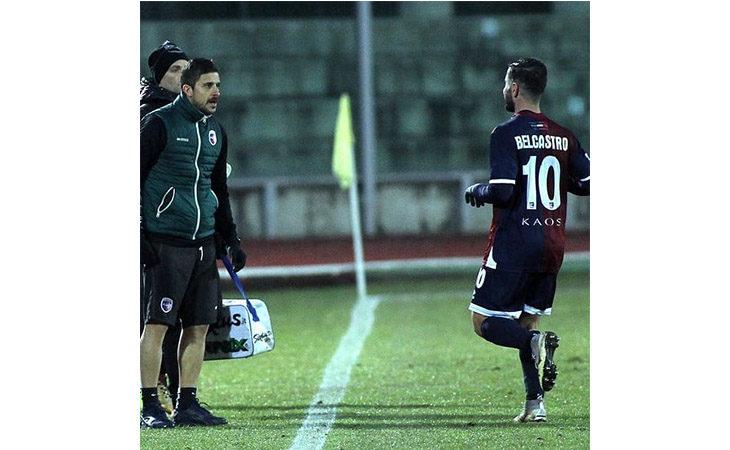 Calcio serie C, il tecnico Alessio Dionisi nel post partita di Imolese-Fano. IL VIDEO