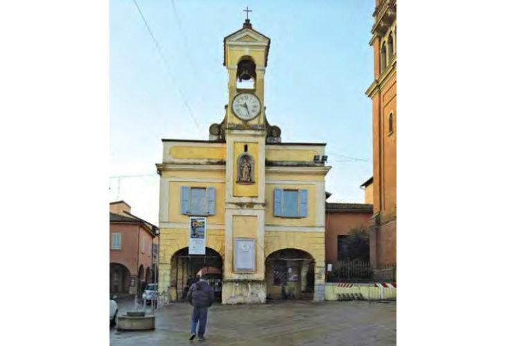 Lavori in vista a Castello per il Cassero e la facciata dell'ex Pretura grazie alla Fondazione Cassa di Risparmio di Imola