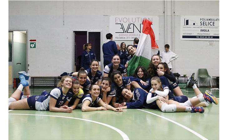 Pallavolo B2 femminile, missione final-four di Coppa Italia centrata per la Csi Clai Imola