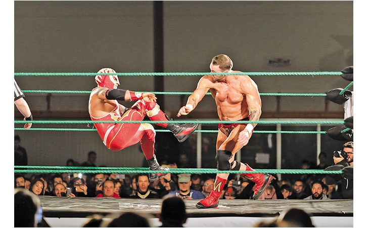Tutto esaurito per la «La Notte dei Campioni» di Wrestling alla Tozzona. IL VIDEO