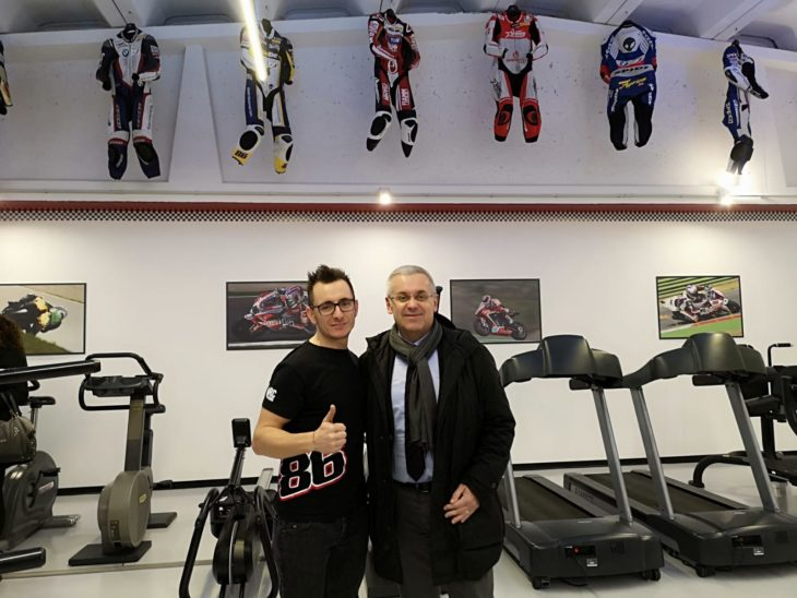 Kawasaki e palestra, il doppio 2019 di Ayrton Badovini