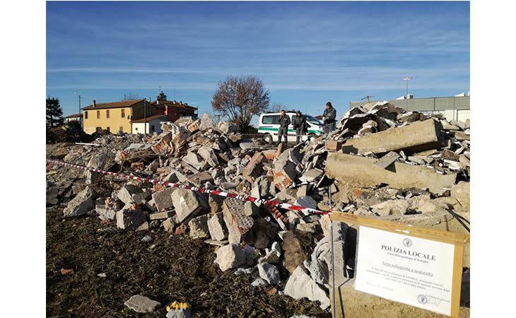 Gestione non autorizzata di rifiuti speciali non pericolosi, sequestrata area a Sesto Imolese
