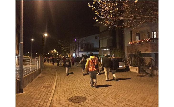 «Camminacittà», a Imola dalla Bocciofila si va in direzione Pambera