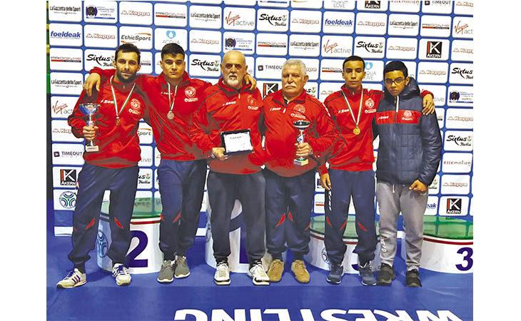 Bronzo tricolore a squadre per l'Unione Sportiva Imolese Lotta