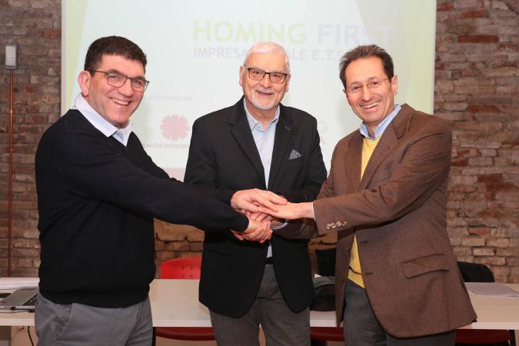 """Si chiama """"Homing First' la risposta di Solco e Caritas a chi ha bisogno di una casa a basso prezzo"""