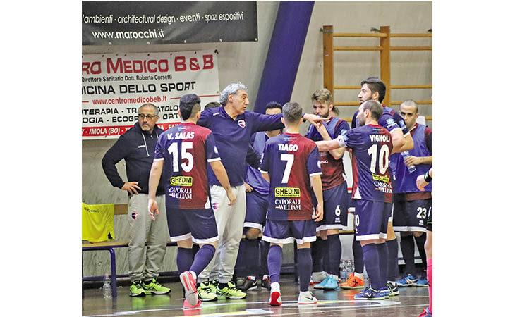 Futsal serie B, anche dopo la sosta l'Imolese Kaos non perde il «vizio» di vincere
