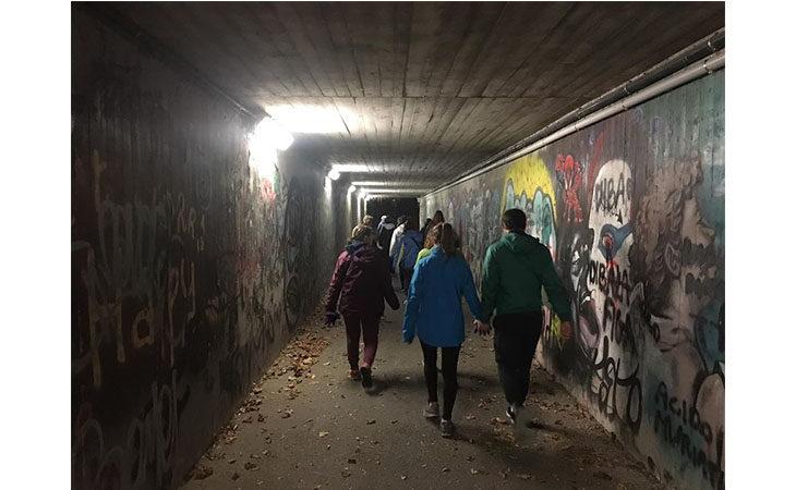 «Camminacittà», a Imola dalla Bocciofila si va in direzione Parco Tozzoni
