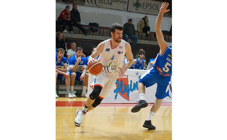 Basket serie B, la Sinermatic regge un tempo e poi lascia strada a Milano