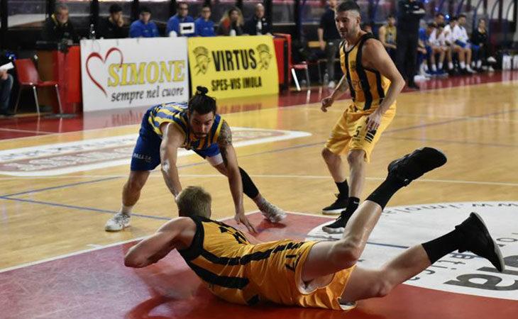 Basket C Gold, «ventello» facile per la Vsv Imola contro Castelnovo